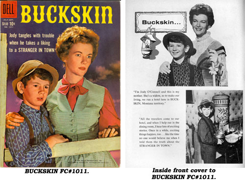 Cover and inside front cover to BUCKSKIN FC#1011.