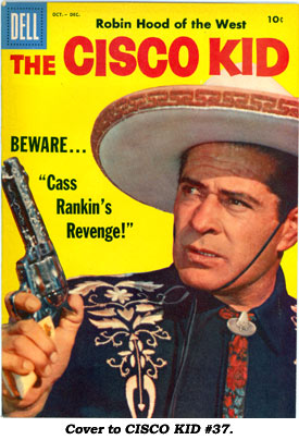 Cover to CISCO KID #37.