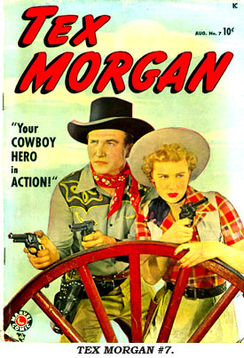 Cover to TEX MORGAN #7.