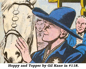 Hoppy and Topper by Gil Kane in #118.