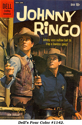 Dell's Four Color #1142. Johnny Ringo.