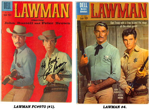 Covers to LAWMAN FC#970 (#1) and #4.