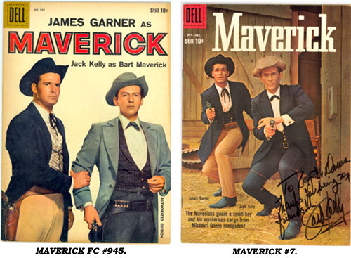 Covers to MAVERICK FC #945 and #7.