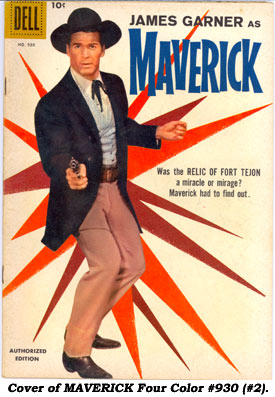 Cover to MAVERICK FC #930 (#2).