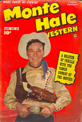 Cover to MONTE HALE WESTERN #82.