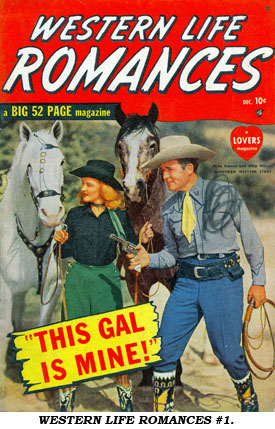 Cover of WESTERN LIFE ROMANCES #1.