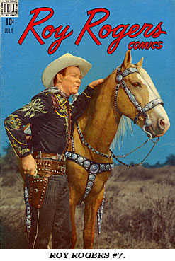 Cover to ROY ROGERS #7.