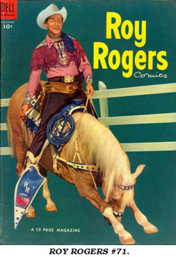 Cover to ROY ROGERS #71.
