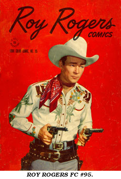 Cover to ROY ROGERS FC #95.