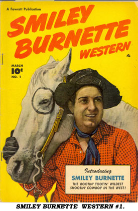 SMILEY BURNETTE WESTERN #1.