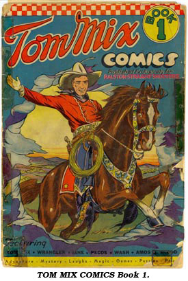 TOM MIX COMICS Book 1.
