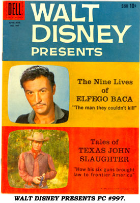 WALT DISNEY PRESENTS FC #997.