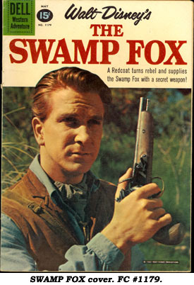 SWAMP FOX cover. FC #1179.