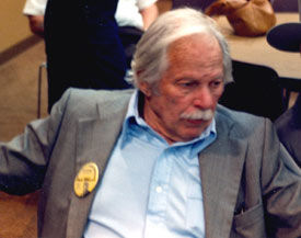 """The Pecos Kid"", Fred Kohler Jr., son of the famous badman, at the Knoxville Western Film Caravan in 1988."