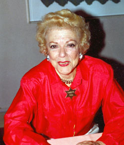 George O'Brien's favorite leading lady Virginia Vale at the 1993 Knoxville Western Film Caravan.