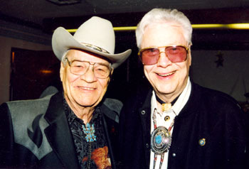 Brothers Bill Hale and Monte Hale. (Photo by Kelo Henderson.)