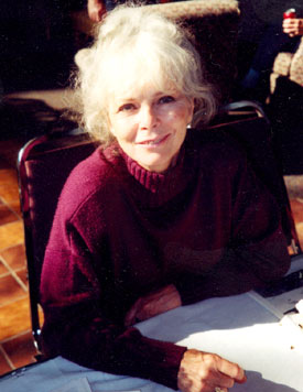 Anne Helm at a Hollywood Collector's Show.