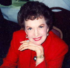 """My Little Margie"", Gale Storm at a Hollywood Collector's show in the '90s."