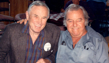 "A couple of Republic serial heroes get together at a '90s Knoxville, TN, film festival. George Wallace (""Radar Men from the Moon"") and Harry Lauter (""Trader Tom of the China Seas"", ""King of the Carnival"")."