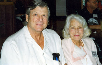 Joel McCrea's son and wife...Jody McCrea and Frances Dee...at the 1998 Memphis Film Festival.
