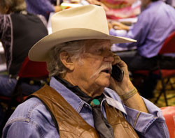 "Don Collier (""Outlaws"", ""High Chaparral"") moves into the cell phone age."