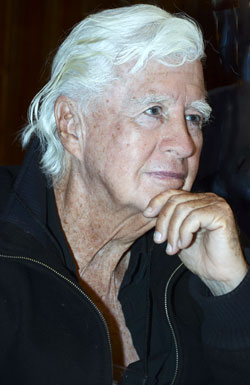 A very pensive Clu Gulager.