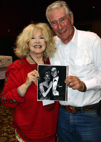 Old friends Connie Stevens and Bob Fuller recall their younger days.