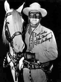 John Hart as the Lone Ranger.