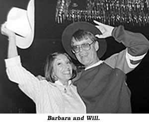 Barbara and Will Hutchins.