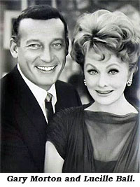Gary Morton and Lucille Ball.