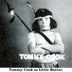 Tommy Cook as Little Beaver.