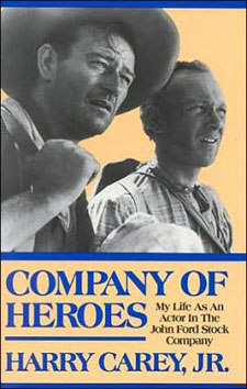 Cover to COMPANY OF HEROES by Harry Carey Jr.
