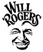 Will Rogers caricature.