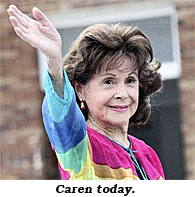 Caren today.