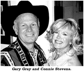 Gary Gray and Connie Stevens.