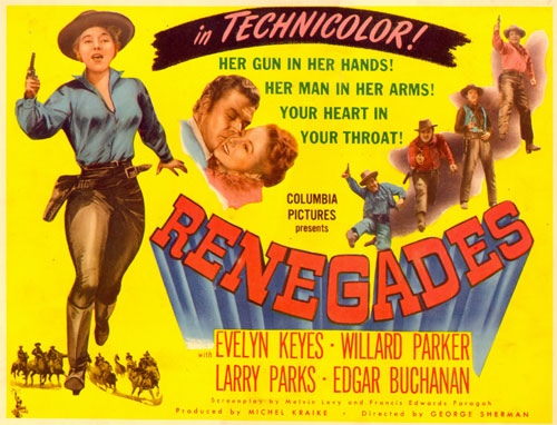 "Title card for ""Renegades""."