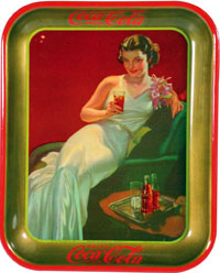 Coka Cola Tray.