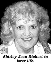 Shirley Jean Rickert in later life.