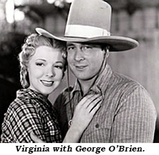 Virginia with George O'Brien.