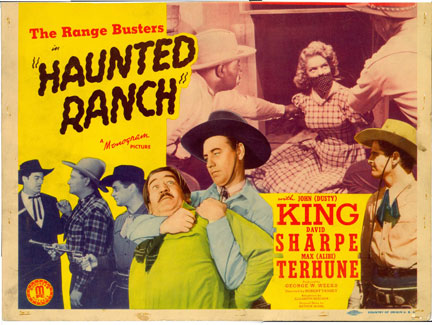 Haunted Ranch Title Card