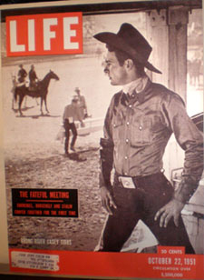 Casey Tibbs on the cover of LIFE magazine in 1951.