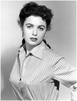 Faith Domergue.