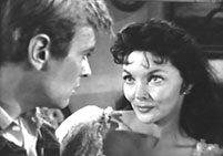 "Will Hutchins and Mari Blanchard in ""Sugarfoot: Apollo With a Gun""."