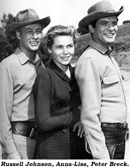 Russell Johnson, Anna-Lisa, Peter Breck.
