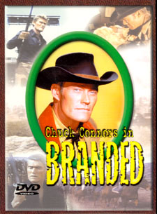 "DVD cover for ""Branded""."