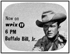 "TV GUIDE ad for ""Buffalo Bill Jr."""