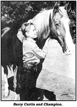 Barry Curtis and Champion.