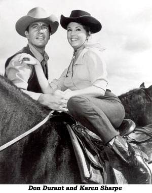 Don Durant and Karen Sharpe