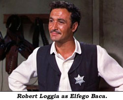 Robert Loggia as Elfego Baca.