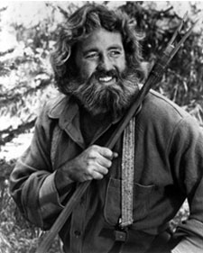 Dan Haggerty as Grizzly Adams.